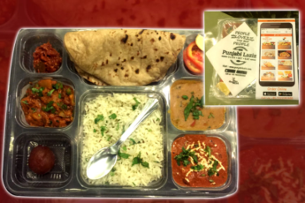 Daily meal (standard thali)